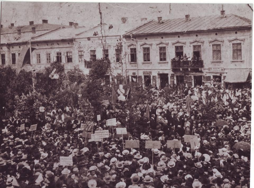28 травня 1914 року відкриття пам'ятника Тарасові Шевченкові в Коломиї