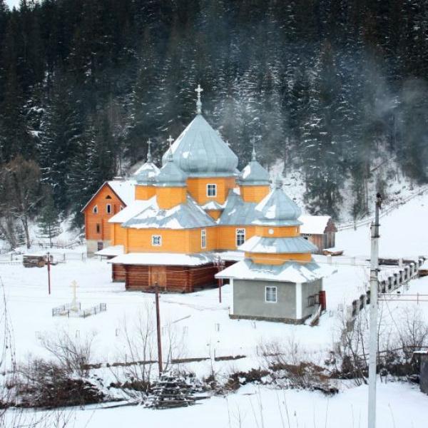 Церква Святого Василія Великого, Яблуниця