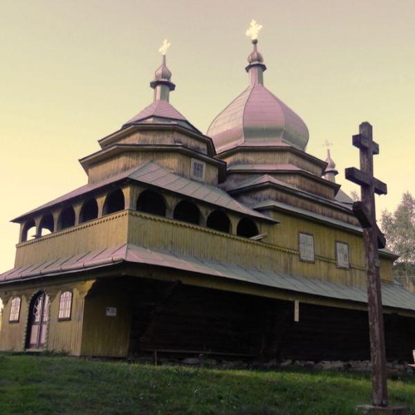 Церква Успіння Богородиці, Тухолька