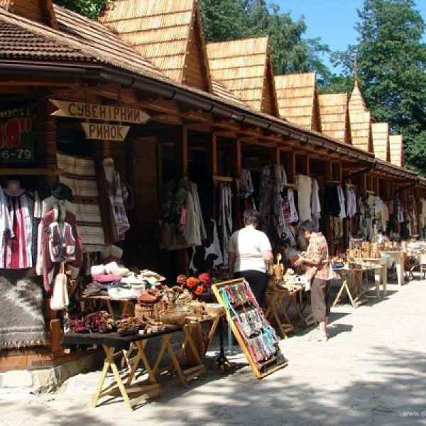 Гуцульський сувенірний базар, Яремче