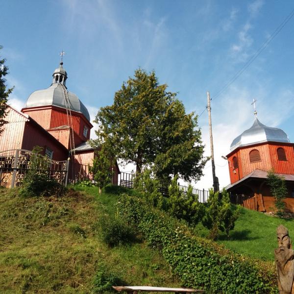 Дерев'яна церква святого Миколая, Урич